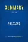 Summary: No Excuses! : Review and Analysis of Tracy's Book - eBook