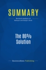 Summary: The 86% Solution : Review and Analysis of Mahajan and Banga's Book - eBook