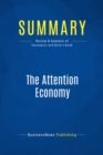 Summary: The Attention Economy : Review and Analysis of Davenport and Beck's Book - eBook