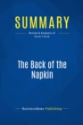 Summary: The Back of the Napkin : Review and Analysis of Roam's Book - eBook