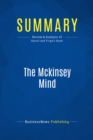 Summary: The Mckinsey Mind : Review and Analysis of Rasiel and Friga's Book - eBook