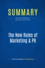 Summary: The New Rules of Marketing & PR : Review and Analysis of Meerman Scott's Book - eBook