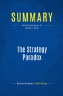 Summary: The Strategy Paradox : Review and Analysis of Raynor's Book - eBook