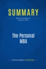 Summary: The Personal MBA : Review and Analysis of Kaufman's Book - eBook