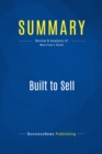 Summary: Built to Sell : Review and Analysis of Warrilow's Book - eBook