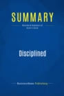 Summary: Disciplined Entrepreneurship : Review and Analysis of Aulet's Book - eBook
