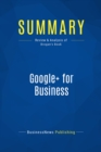 Summary: Google+ for Business : Review and Analysis of Brogan's Book - eBook