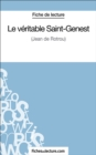 Le veritable Saint-Genest : Analyse complete de l'oeuvre - eBook