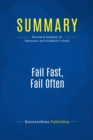 Summary: Fail Fast, Fail Often : Review and Analysis of Babineaux and Krumboltz's Book - eBook