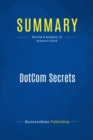 Summary: DotCom Secrets : Review and Analysis of Brunson's Book - eBook
