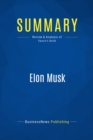 Summary: Elon Musk : Review and Analysis of Vance's Book - eBook
