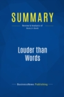 Summary: Louder than Words : Review and Analysis of Henry's Book - eBook