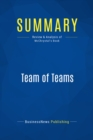 Summary: Team of Teams : Review and Analysis of McChrystal's Book - eBook