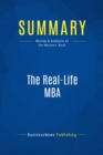 Summary: The Real-Life MBA : Review and Analysis of the Welches' Book - eBook