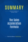 Summary: The Sales Acceleration Formula : Review and Analysis of Roberge's Book - eBook