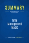Summary: Time Management Magic : Review and Analysis of Cockerell's Book - eBook