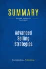 Summary: Advanced Selling Strategies : Review and Analysis of Tracy's Book - eBook
