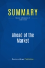 Summary: Ahead of the Market : Review and Analysis of Zacks' Book - eBook