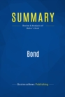 Summary: Bond : Review and Analysis of Maher's Book - eBook
