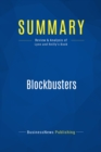 Summary: Blockbusters : Review and Analysis of Lynn and Reilly's Book - eBook
