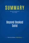 Summary: Beyond Booked Solid : Review and Analysis of Port's Book - eBook