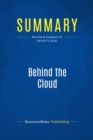 Summary: Behind the Cloud : Review and Analysis of Benioff's Book - eBook