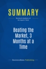 Summary: Beating the Market, 3 Months at a Time : Review and Analysis of the Appels' Book - eBook