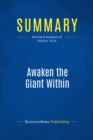 Summary: Awaken the Giant Within : Review and Analysis of Robbins' Book - eBook