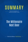 Summary: The Millionaire Next Door : Review and Analysis of Stanley and Danko's Book - eBook