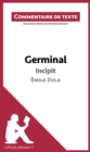 Germinal de Zola - Incipit : Commentaire de texte - eBook