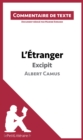L'Etranger de Camus - Excipit : Commentaire de texte - eBook