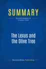 Summary: The Lexus and the Olive Tree : Review and Analysis of Friedman's Book - eBook
