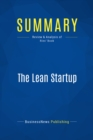 Summary: The Lean Startup - eBook