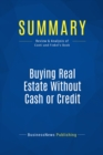 Summary: Buying Real Estate Without Cash or Credit : Review and Analysis of Conti and Finkel's Book - eBook