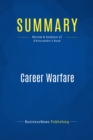 Summary: Career Warfare : Review and Analysis of d'Alessandro's Book - eBook