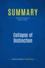 Summary: Collapse of Distinction : Review and Analysis of McKain's Book - eBook