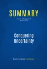 Summary: Conquering Uncertainty : Review and Analysis of Modis' Book - eBook