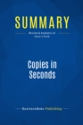 Summary: Copies in Seconds : Review and Analysis of Owen's Book - eBook