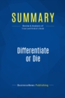 Summary: Differentiate or Die : Review and Analysis of Trout and Rivkin's Book - eBook