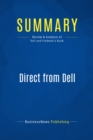 Summary: Direct from Dell : Review and Analysis of Dell and Fredman's Book - eBook