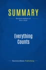 Summary: Everything Counts : Review and Analysis of Blair's Book - eBook