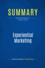 Summary: Experiential Marketing : Review and Analysis of Schmitt's Book - eBook