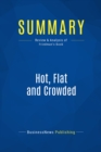 Summary: Hot, Flat and Crowded : Review and Analysis of Friedman's Book - eBook