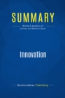 Summary: Innovation : Review and Analysis of Carlson and Wilmot's Book - eBook