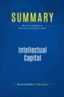 Summary: Intellectual Capital : Review and Analysis of Edvinsson and Malone's Book - eBook