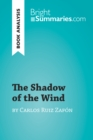 The Shadow of the Wind by Carlos Ruiz Zafon (Book Analysis) : Detailed Summary, Analysis and Reading Guide - eBook