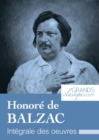 "Honore de Balzac : Integrale des Å""uvres - eBook"