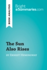 The Sun Also Rises by Ernest Hemingway (Book Analysis) : Detailed Summary, Analysis and Reading Guide - eBook