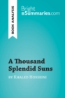 A Thousand Splendid Suns by Khaled Hosseini (Book Analysis) : Detailed Summary, Analysis and Reading Guide - eBook