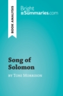 Song of Solomon by Toni Morrison (Book Analysis) : Detailed Summary, Analysis and Reading Guide - eBook